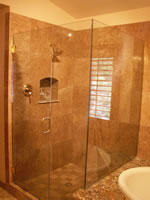 Shower Enclosure And Seat